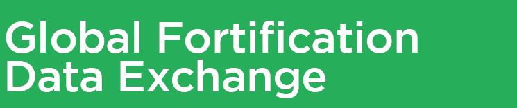 Global Fortification Data Exchange | GFDx